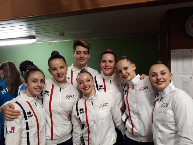 Open de Slovaquie à Bratislava: des athlètes du pôle Ceyrat Aérobic remportent une médaille
