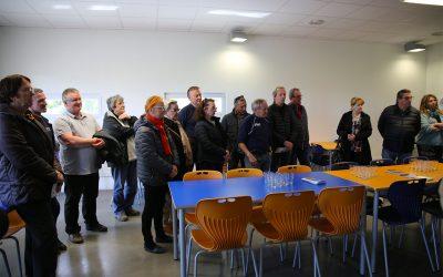 Les élus visitent le Campus Artenium de Ceyrat