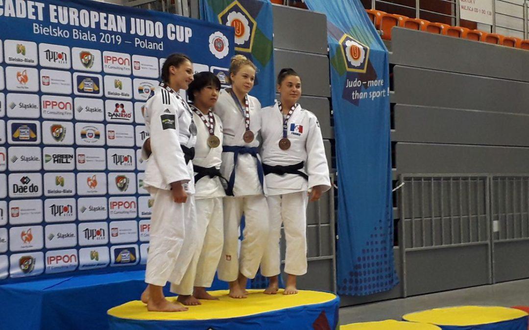 Félicitations à Juliette Diollot,  interne au Campus Artenium et athlète du Pôle Espoir JUDO de Ceyrat !