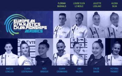 Les athlètes du Pôle France Gymnastique Aérobic en tête du classement au championnat de France